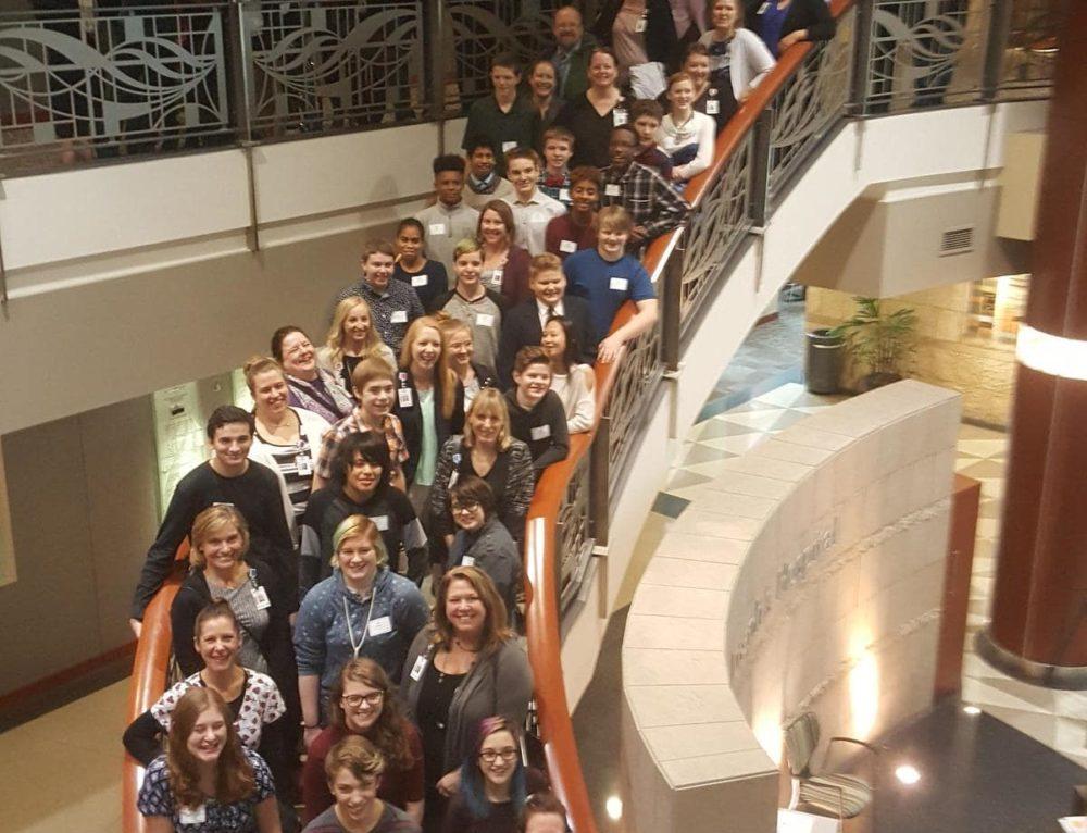 AFSA Students Meet BestPrep Mentors at HealthEast