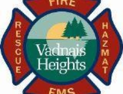 Vadnais Heights Fire Receives Class 2 Insurance: May Mean Lower Rates for Businesses