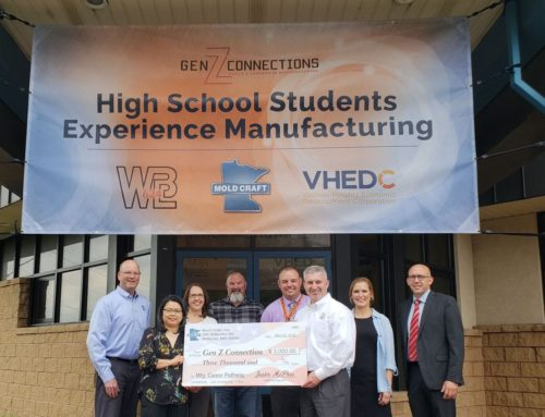 Mold Craft Grants Funds to VHEDC to Advance Award-Winning Gen Z Connection: Skills and Careers in Manufacturing Program